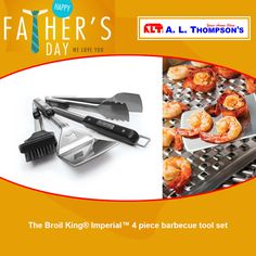 "Because Dad deserve it! The Broil King ""Imperial Grill Tools set"" is a great gift for the grill-master."