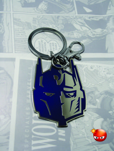 Llavero de optimus prime de Transformers