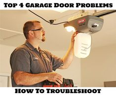 Don't be frustrated when your garage door or your opener are not working properly.  Here are 4 quick tips you can check before calling any company for repairs.  But if you are in the San Antonio, TX metro area, and you do need a trustworthy, garage door service company, contact Hollywood Crawford at (210) 494-3434.