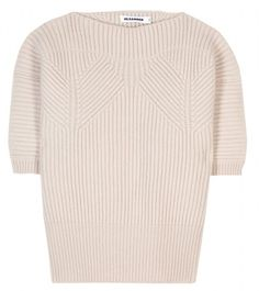 Wool and Cashmere Pullover - Lyst from jil sander