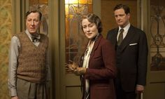"""""""They like us, they really like us …"""" Geoffrey Rush, Jennifer Ehle and Colin Firth in The King's Speech"""