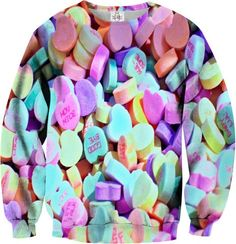 Candies Sweatshirt http://shop.nylon.com/collections/whats-new/products/candies-sweatshirt #NYLONshop