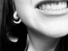 if i were to get one more piercing, i'd probably get a smiley. love it!!