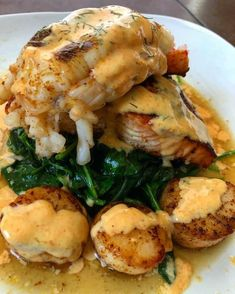 Seafood Dishes, Seafood Recipes, Cooking Recipes, Healthy Recipes, Healthy Chef, I Love Food, Good Food, Yummy Food, Dessert