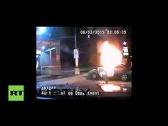 Blazing Texas: Man sets car, himself on fire, blast throws policemen clear (VIDEO) — RT USA