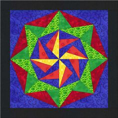 Barn Quilt - Larakeet Flower – American Barn Quilts. I'd love to change the colors in this for front of house