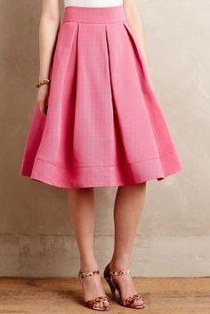 Eliza J Wisteria Skirt #AnthroFave