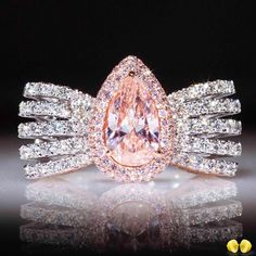 This is what we take pride into at Novel , exceptional rare fancy color diamonds set into beautifully crafted high jewelry!