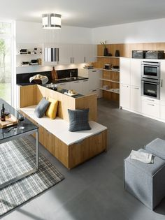 Modern kitchens by Schüller are classy and stylish kitchens. Built to the highest standards Schüller modern kitchens are kitchens for life.