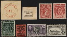 Falkland Islands, **/* collection 1878-1978. Including Dependencies. Almoust complete, missing the moust expensive stamps but with many difficult ones. Also some varieties. Pleasae see more scans at www.philea.se.    Dealer  AB Philea    Auction  Minimum Bid:  15000.00SEK  (app. 1724 EUR)