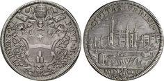 NumisBids: Numismatica Varesi s.a.s. Auction 65, Lot 793 : CLEMENTE XI (1700-1721) Mezza Piastra 1705 A. V, Roma. Munt. 52 ...