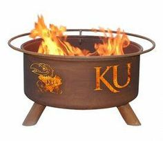 Looking for the perfect accessory for your patio, tailgating party or camping? The TCU Horned Frogs Portable Fire Pit & BBQ Grill Set will do the trick! The bowl is constructed with a single sheet of the highest grade 16 gauge AKDO cold-rolle. Metal Fire Pit, Wood Burning Fire Pit, Fire Pit Grill, Bbq Grill, Fire Pits, Backyard Bbq Pit, Wedding Backyard, Outdoor Fire, Outdoor Decor