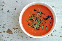 Warm up with this easy tomato soup recipe that you make make in minutes flat.