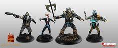 Calabozo Criollo: Miniaturas para Shadowrun Chronicles Boston Lockdo...