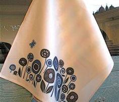 Tea towel by Antoniamanda