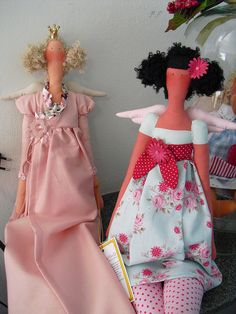 Sweet angel dolls.