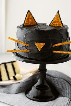 tarta-gato-negro-halloween photo