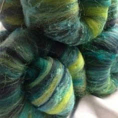 Caliope's Fibre: layered batts