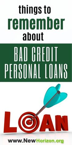 Some things to remember about bad credit personal loans. Apply For A Loan, How To Apply, How To Get, How To Plan, My Credit Score, Unsecured Loans, Credit Rating, Loans For Bad Credit, Financial Institutions