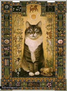 Lesley Anne Ivory cats #Cat lovers - Join http://facebook.com/OzziCat * Get cat #magazine http://OzziCat.com.au