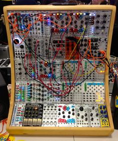 Eurorack ~ standardized module puzzle system supported by many developers ~ invented by Döpfer