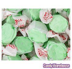 Green Apple Salt Water Taffy: 5LB Bag