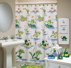 Charming Frog Bathroom Decor To Create Attractive Home Decor