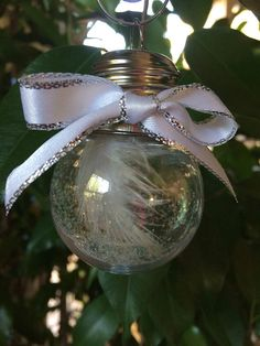 Guardian Angel Christmas Ornament Angel Feather Ornament