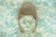 Baby Earflap Hat - 3 months (links to larger patterns)