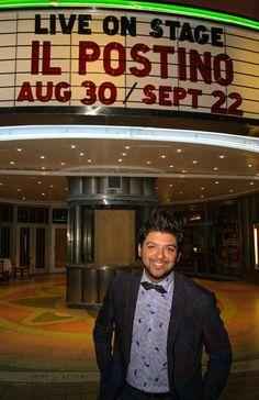 """David Chacón Pérez,  el  """"Empresario Cultural"""" de Miami. Conocelo en esta nota. http://www.lanuevavozlatina.com/rostros/david-chacon-perez-y-su-exito-el-cartero-il-postino"""