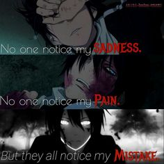 Anime: Noragami Why must people do this? Anime D, Fanarts Anime, Dark Anime, Anime Stuff, Sad Anime Quotes, Manga Quotes, Pinterest Instagram, Dark Quotes, Edgy Quotes