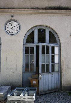 Praterinsel, Munich, Germany, old factory