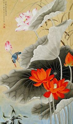 Китайская живопись (цветы, рыбы, птицы..) - МАСТЕРСТВО МИРА - ИСКУССТВУ БЫТЬ - Каталог статей - ЛИНИИ ЖИЗНИ