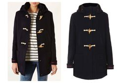 Why All the Smart Girls are Buying Their Fall Coats Now >>>>>WOOL HOODED DUFFLE COAT, $178, TOPSHOP.COM
