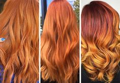 63 Hot Red Hair Color Shades to Dye for: Red Hair Dye Tips & Ideas – kristina white – hairtrends Dyed Tips, Hair Dye Tips, Shades Of Red Hair, Bright Red Hair, Ginger Hair Color, Red Hair Color, Red Color, Carey Mulligan, Golden Red Hair