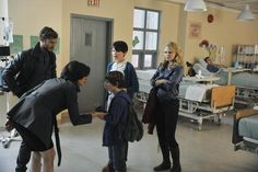 Still of Ginnifer Goodwin, Jennifer Morrison, Lana Parrilla, Jamie Dornan and Jared Gilmore in Once Upon a Time (2011)