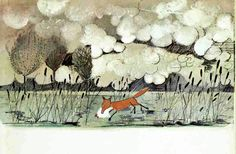 """Harquin, the Fox who went down to the Valley"" by John Burningham"