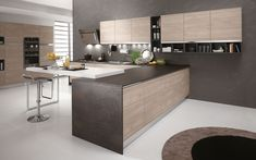 Modern, functional kitchens. Emotional design and technology