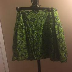 Green skirt Green skirt never worn Skirts Mini