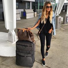 "3,361 Likes, 66 Comments - Hollie Woodward (@holliewdwrd) on Instagram: ""IN ➡️ LAX ✈️ @liketoknow.it http://liketk.it/2p1rM #liketkit #girlstrip"""