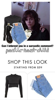 """Baby girl don't be so sad, they come and they go"" by poetic-soul-child ❤ liked on Polyvore featuring Edith A. Miller, Levi's and Dr. Martens"