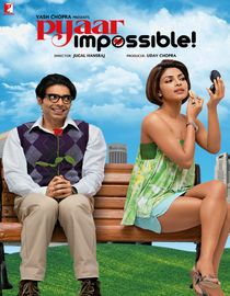 Uday Chopra and Priyanka Chopra (no relation) in Pyaar Impossible. I liked it a lot.