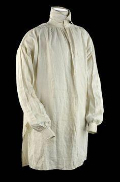 1807 men's shirt from The Nationl Maritime Museum
