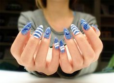 New Arrival Sexy Occidental Style Cusp Nail Tips
