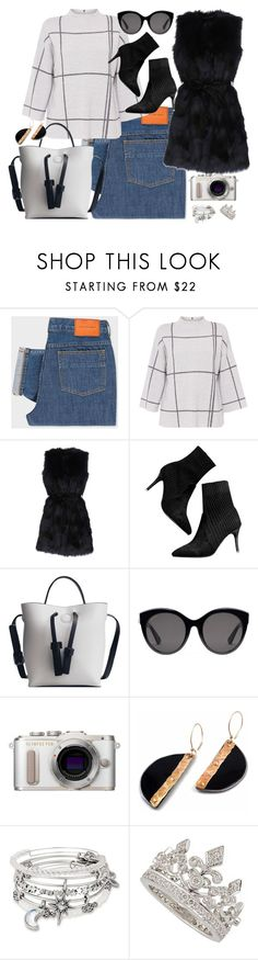 """""""Untitled #660"""" by alibasicamina ❤ liked on Polyvore featuring PS Paul Smith, L.K.Bennett, Gucci, PL8 and Alex and Ani"""