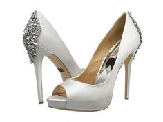 Add some sparkle behind you with heels like these Badgley Mischka Kiara