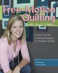 Free-Motion Quilting with Angela Walters. Pages and pages of free motion quilting designs. They are drawn out so that you can see how they're made and practice. Then there are tons of quilts (no patterns) showcasing those designs and advice on how to choose a quilting design for a specific quilt or area. I got this from the library first and liked it enough to buy the digital edition, and I've even started using some of the designs.
