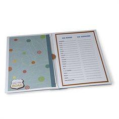 Let's Go Envelope Book