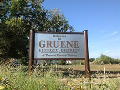 Welcome to Gruene Historic District - New Braunfels, Texas