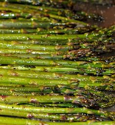 Broiled asparagus. The best way to eat asparagus!